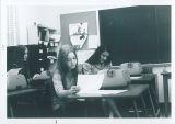 Secretarial Students Using Typewriters