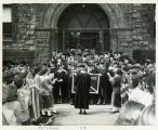 Cap and Gown Convocation at Russell Sage College, 1958