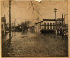 1913 Flood in Watervliet, NY - 19th & Broadway