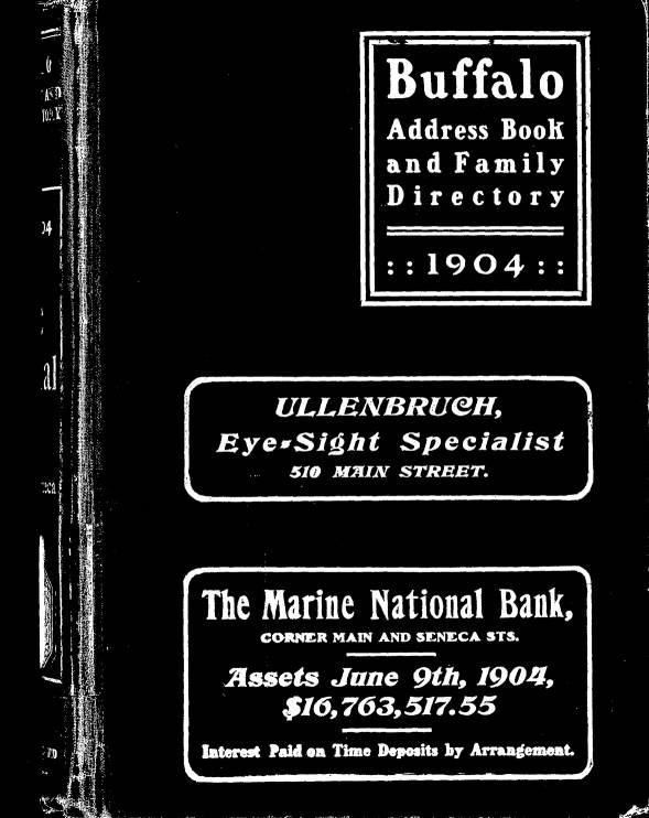 1904 0001 buffalo history museum buffalo address book family