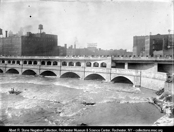 Aqueduct becomes Broad Street Bridge - 4 - Rochester Museum
