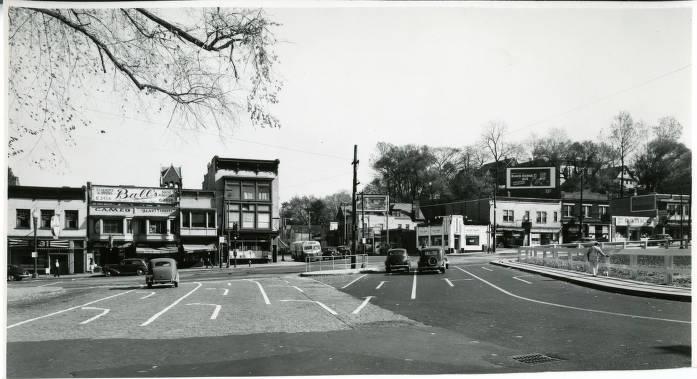 Schenectady Street Scenes, Veeder Avenue, Facing State Street