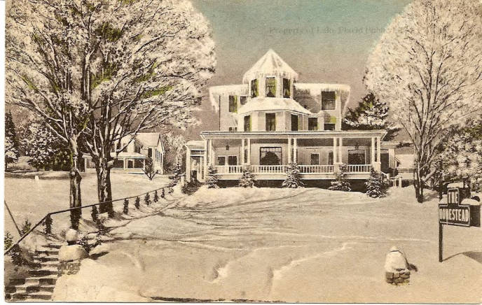 The Homestead Lake Placid Public Library New York Heritage Digital Collections