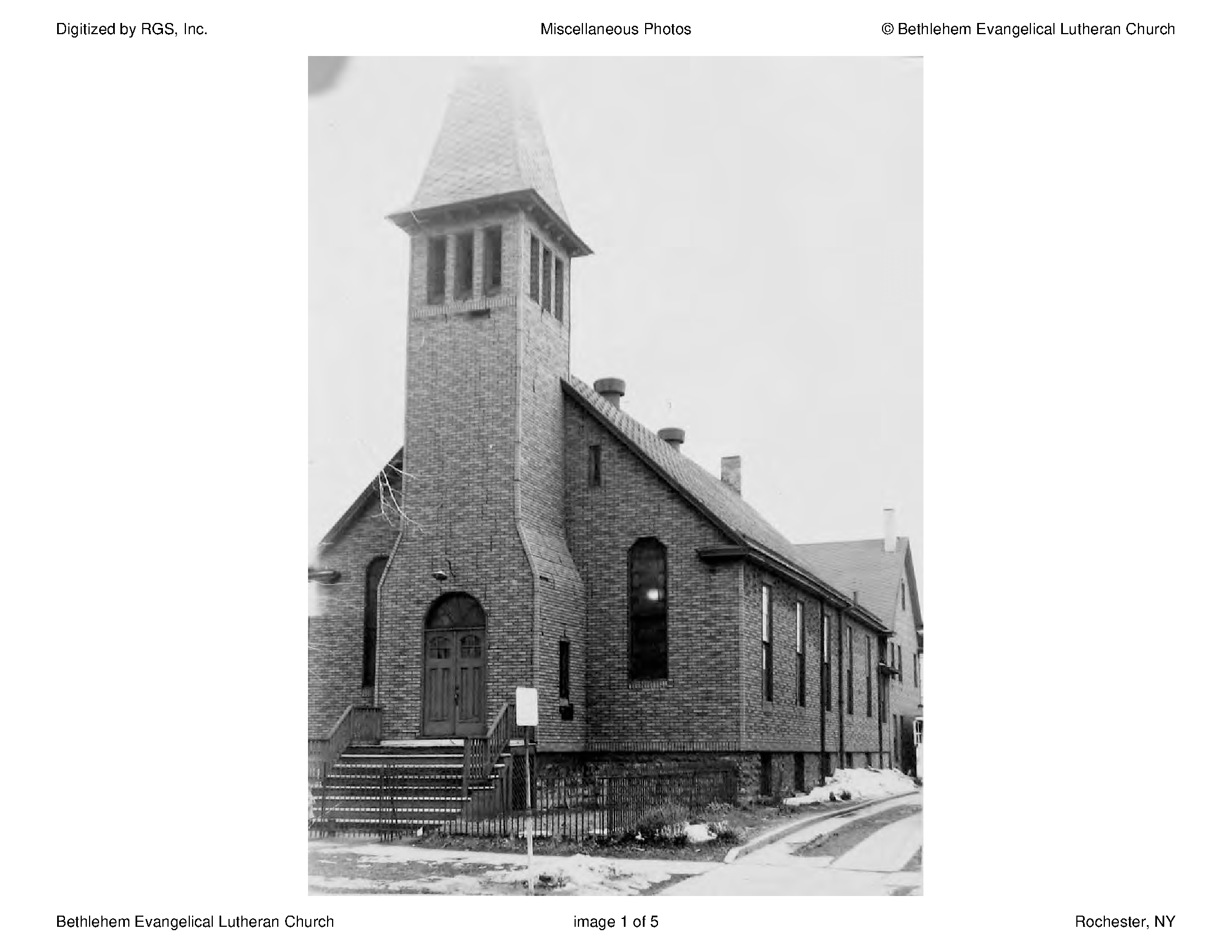Page 1 - Rochester Genealogical Society - New York Heritage Digital